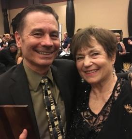 Randy with Sonya Dunfield